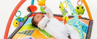 Infantino-Pond-Pals-Twist-and-Fold-Activity-Gym-and-Play-Mat-0-0
