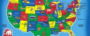 Melissa-Doug-USA-Map-51-pcs-Floor-Puzzle-0