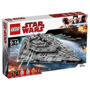 LEGO®  Star Wars™ The Last Jedi First Order Star Destroyer&#15...