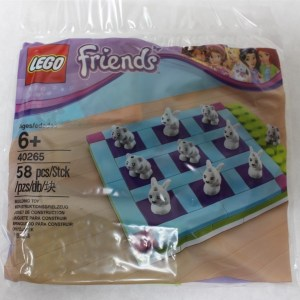 LEGO 40265 Friends Tic Tac Toe Polybag 58pcs New Free Shipping