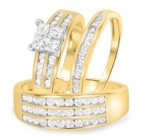 10K Yellow Gold | 1 5/8 CT. T.W. | STYLE: BT512Y10K