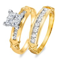 The gallery for --> Yellow Gold Diamond Wedding Rings For ...