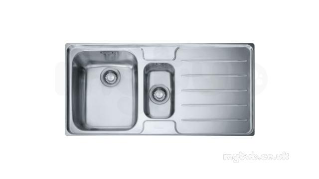 Franke Lsx651 15b Lhd Sink Ss 1010066688 Franke