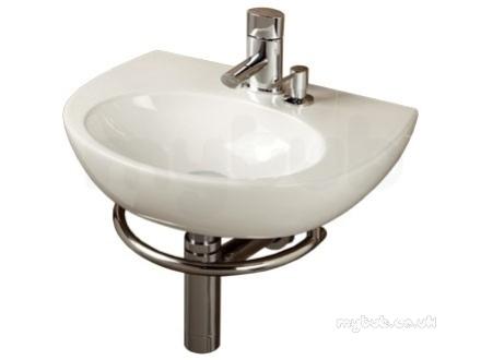 Malo Roccanova Cloakroom Wash Basin With Towel Rail And