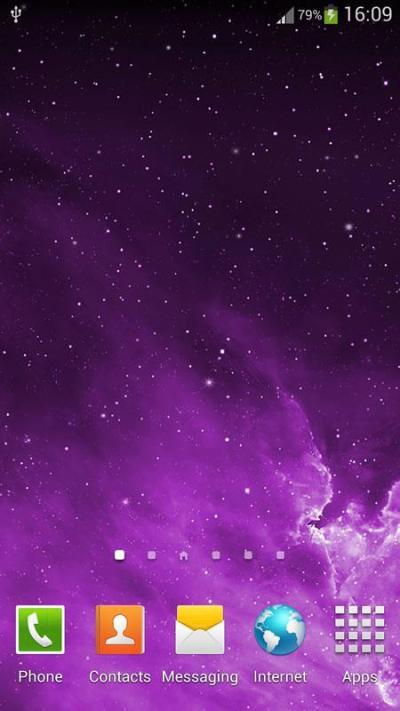 Galaxy Parallax Live Wallpaper (3) - My Tunes Hub