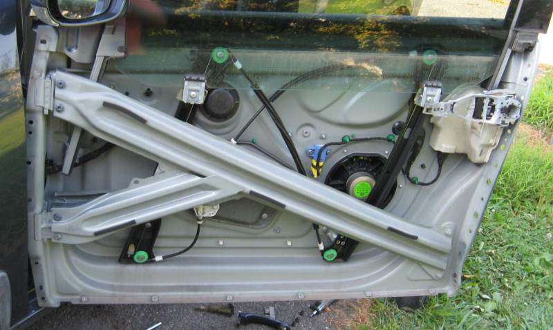Door wiring harness -cracked wire replacement - mk5 VW VW TDI