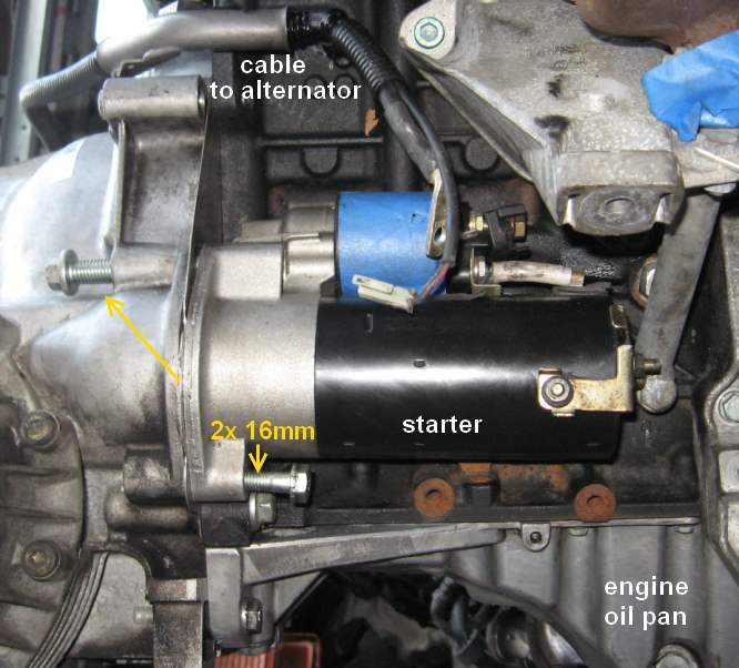Starter testing and removal - B5 Passat TDI VW TDI forum, Audi