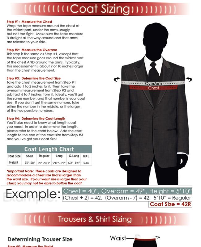Tuxedo QA How Can I Be Sure My Rental Tuxedo Will Fit?