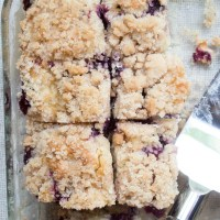 Ga's Easy Blueberry Coffee Cake