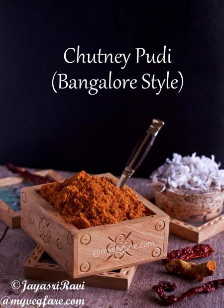 Chutney Pudi - Bangalore style