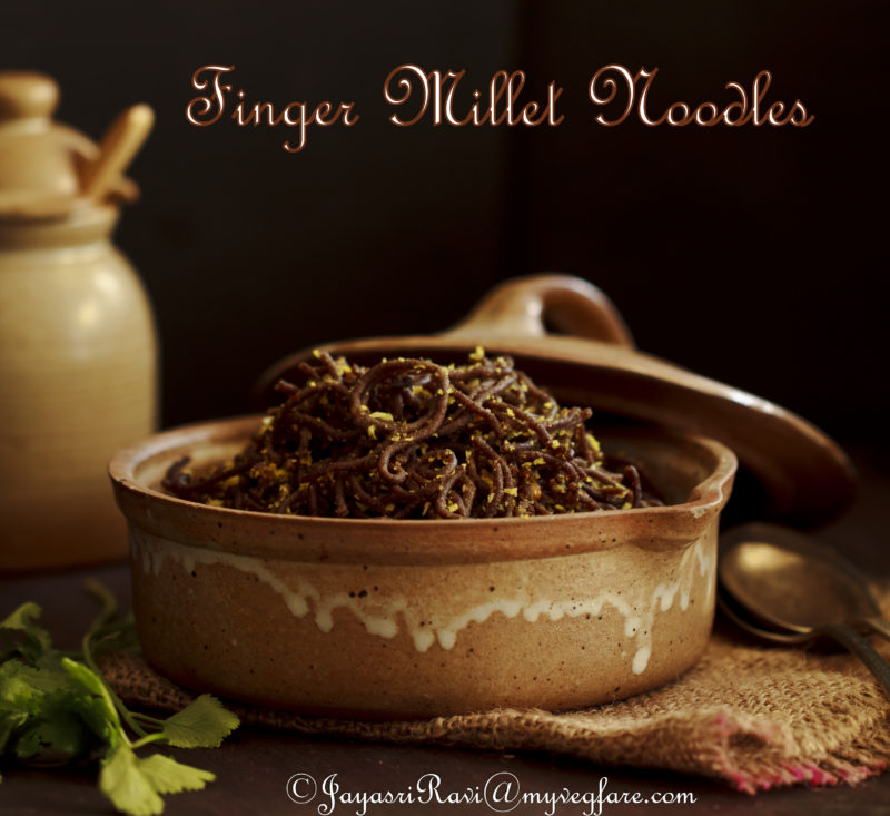 Ragi / Finger Millet Semiya (Noodles)