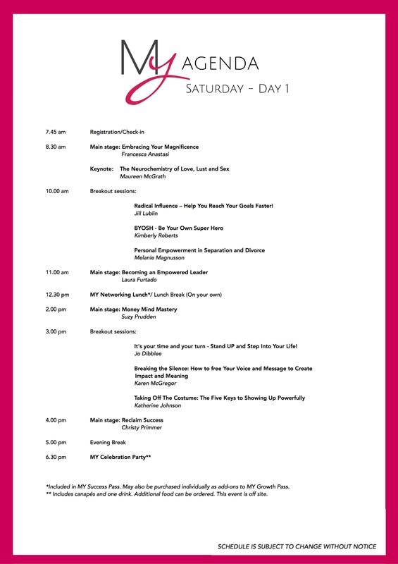 Agenda - conference agenda