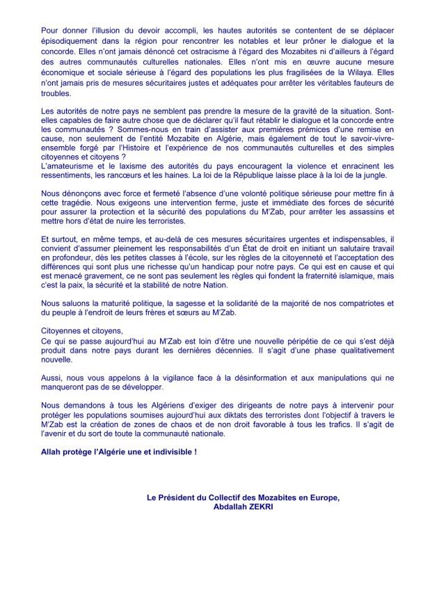 COLLECTIF DES MOZABITES EN EUROPE COMMUNIQUE N°08-15_Page_2sur2