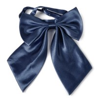 Fashion Women Girl Bow Tie Neckwear Party Banquet Solid ...