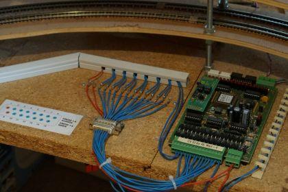 Die Gleisbesetztmeldung im Wendel mittels Blücher GBM16XS