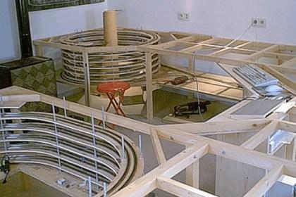 Die Form des Wendel kann den Platzverhältnissen angepasst sein