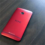 htc ome red pic