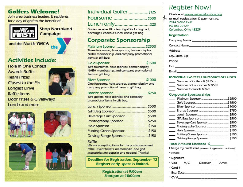 NABA 10th Annual Golf Tournament- Register Today! - Northland Area