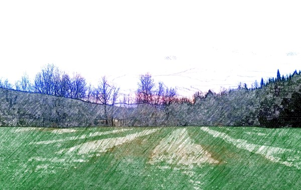 Digital, Landscape, Series, Horizon, 'Plate 02, Naccarato, Digital, Photo, Composition, HTC Desire, Android, mobile Phone, Eastern Townships, Sutton, Quebec, 2013