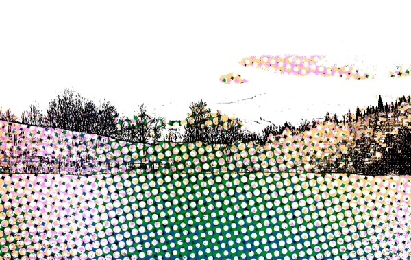 Digital, Landscape, Series, Horizon,  Naccarato, Digital, Photo, Composition, HTC Desire, Android, mobile Phone, Eastern Townships, Sutton, Quebec, 2013, Plate 05,