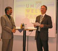 Umweltminister Schnappauf macht Mc Donald´s zu unserem Amtskollegen