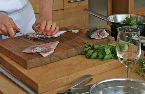 BIOerleben Nürnberg 2011: die ersten Rezepte der Kochshows in der Möbelmacherküche