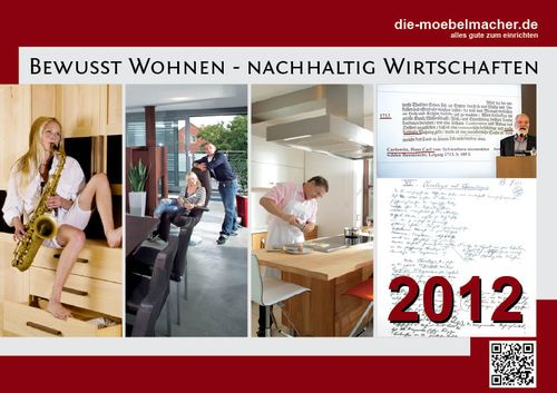 Das Video: Social Media bei den Möbelmachern und der Artikel Social Media im Holzhandwerk aus dem Kalender 2012