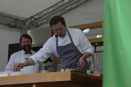 Mit Andreé Köthe vom Essigbrätlein über Spitzenköche und Küchenbauer diskutiert