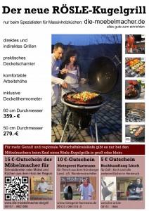 Newsletter Nr. 75: Arbeitsplatte im Extremtest und regionales Grillen