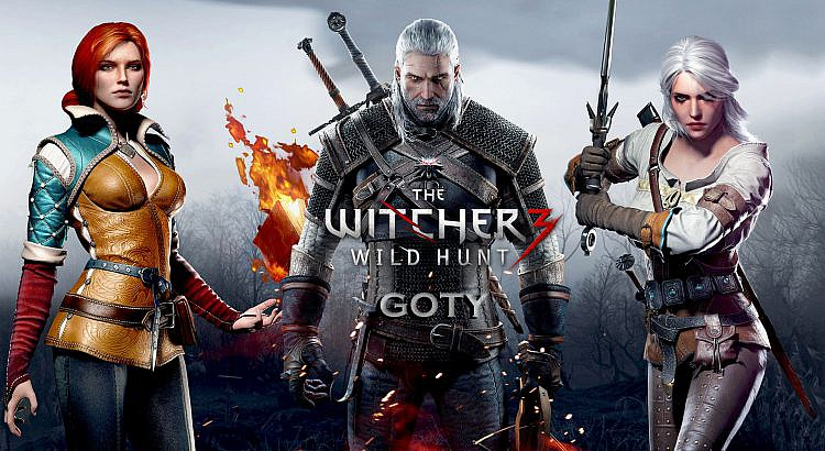 The witcher 3 Goty vendrá con todo en disco!!!!