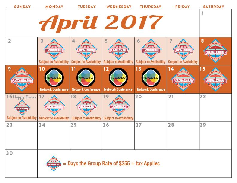 Calendar 2017 Easter Sunday