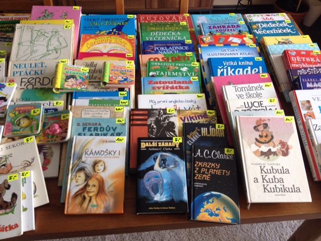 Nadační bazar dětských knih již zítra!