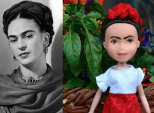 Frida Kahlo as a doll 3