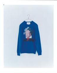he (blue) men's wool 100% ¥30,000+tax 着丈:67cm 身幅:50cm 裄丈:83cm