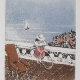 アナピア・アントニーニ「輪」1987年/アクァティント/60500円
