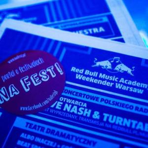 RED BULL MUSIC ACADEMY WEEKENDER WARSAW 2015