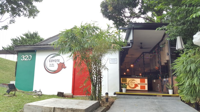 Coyote Mexican At Phoenix Park, Tanglin, Singapore - Side Facade