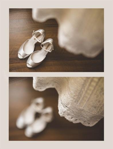 …en casa de la novia…