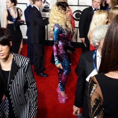 grammy1 500x500 Pictures Of Nigerian Celebrities At The Grammys [Photo]