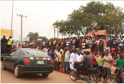 322 See Photo From Scene Of Abuja Bomb Blast Last Night