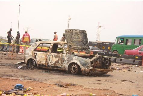 51 See Photo From Scene Of Abuja Bomb Blast Last Night