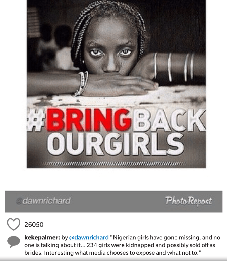 7 International Stars Lend Their Voices To #bringbackourgirls Campaign
