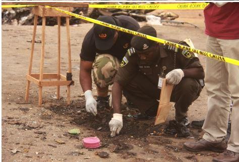 91 See Photo From Scene Of Abuja Bomb Blast Last Night