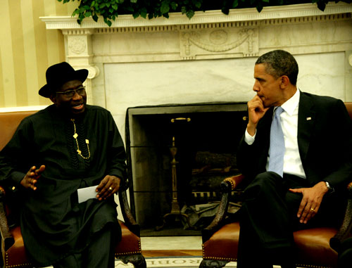 GOODLUCK WITH OBAMA 3 GEJ Accepts Obamas Offer To Send US Security Personnel To Help Rescue Abducted Girls