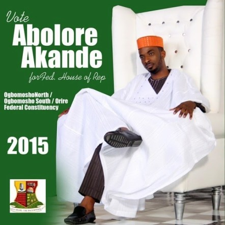9ice NL1 Popular Singer 9ice Unveils Campaign Poster As He Set To Run For House Of Reps   Olamide Baddo Supports