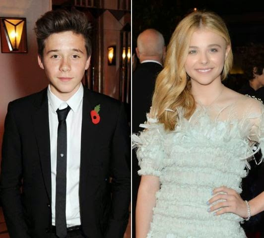 a Beckhams 15yr Old Son Gets His First Girlfriend, Whos An Actress
