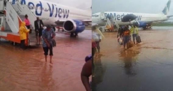 airport New Enugu International Airport Flooded [See Photo]