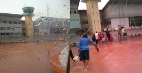 airport2 New Enugu International Airport Flooded [See Photo]