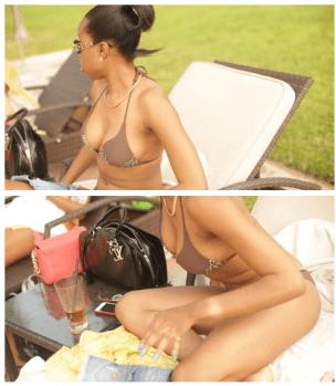 miss NL5 Miss Ghana 2010 Stephanie Karikari Puts Her S.exy Body On Public Display In A Very Tiny Bikini