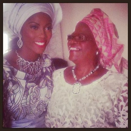 tiwa NL1 Mum Prayed For My Bullies Read Tiwa Savages Sweet Birthday Message To Her Mum